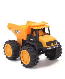 JCB Mini Sand Dump Truck Yellow - 7 inches