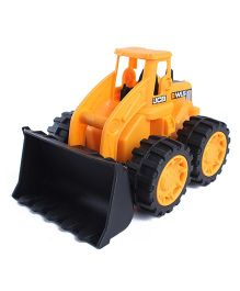 JCB Wheeled Loader Yellow - 7 Inches