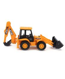 JCB Backhoe Loader 1:32 Scale - Yellow