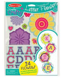 Melissa & Doug Simply Crafty Personalized Letter Flowers