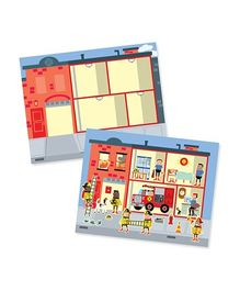Melissa & Doug Reusable My Town Sticker Pad