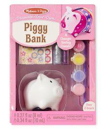 Melissa & Doug Piggy Bank Decorating Set