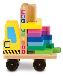 Melissa & Doug Stack and Count Forklift