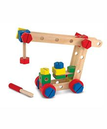 Melissa And Doug Construction Set In A Box - Multicolor