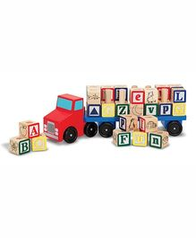 Melissa And Doug Alphabet Truck - Multicolor