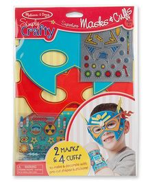 Melissa & Doug Simply Crafty - Superhero Masks and Cuffs
