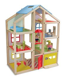 Melissa And Doug Hi Rise Doll House