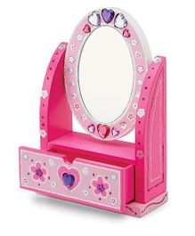 Melissa And Doug Decorate Your Own Vanity - Pink