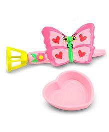 Melissa And Doug Bubble Butterfly Gun - Pink