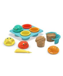 Melissa & Doug Seaside Sidekicks Sand Cupcake Set - Multicolor