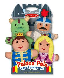 Melissa & Doug Hand Puppets Set of 4 - Places Pals