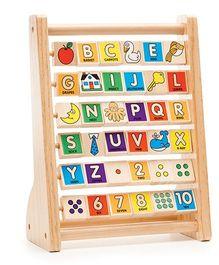 Melissa & Doug ABC 123 Wooden Abacus