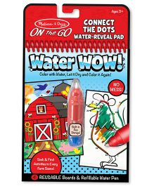 Melissa & Doug Connect The Dots Water Reveal Pad