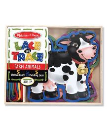 Melissa & Doug Lace And Trace Farm Animals