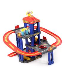 Majorette Car Park Play Set - Blue