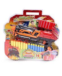Chhota Bheem Soft Bullet Gun - Orange