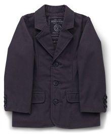 Mothercare Full Sleeves Blazer - Dark Grey