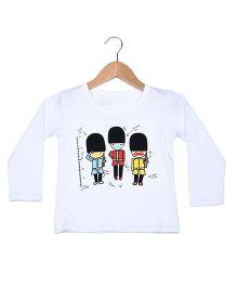 Superfie Printed T-Shirt - White