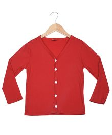 Superfie Stylish Cardigan - Red