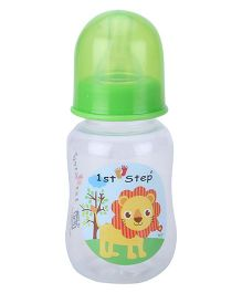 1st Step Feeding Bottle White and Green - 125 ml