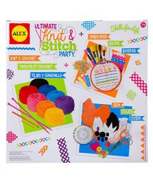 Alex Toys Ultimate Knit And Stitch Party - Multicolor