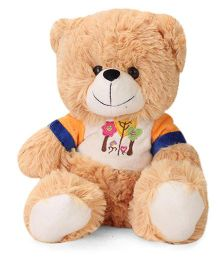 Funzoo Balloon Teddy Bear Soft Toy Brown - Height 10 Inches