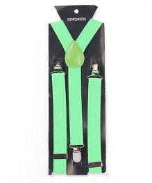 Kid-o-nation Suspenders - Light Green