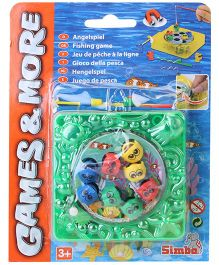 Simba Games And More Wind Up Fishing Game Set - Green