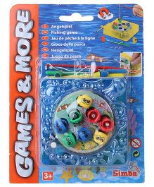 Simba Games And More Wind Up Fishing Game Set - Blue