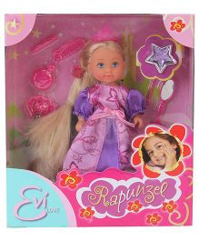 Simba Evi Love Rapunzel Doll Purple - 12 cm