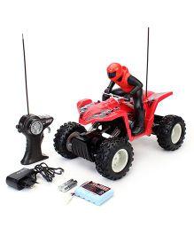 Maisto Rock Crawler ATV Remote Controlled Toy Car - Red