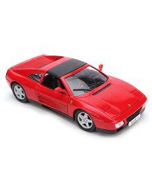Bburago Ferrari 348 TS Model Car Toy - Red