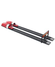 Bburago Ferrari Racing Car Launcher - Red And Black