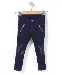 Vitamins Full Length Trouser - Navy Blue
