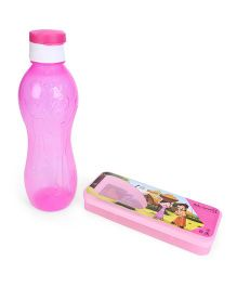 Chhota Bheem Sipper Bottle and Pencil Box Set - Pink