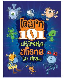 Young Angels Learn 101 Ultimate Aliens To Draw - English