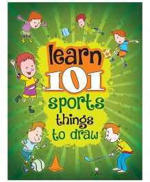 Young Angels Learn 101 Sports Things To Draw - English