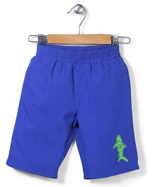 Mothercare Swim Shorts Shark Print - Blue