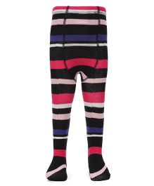Pumpkin Patch Striped Footed Stocking Tights - Multicolor