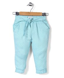 Pumpkin Patch Full Length Pant - Aqua Blue