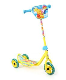Winnie The Pooh Three Wheel Scooter - Yellow