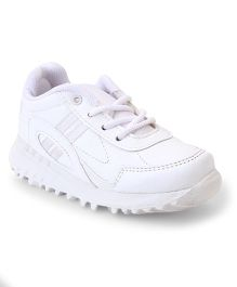 Force 10 School Shoes - White