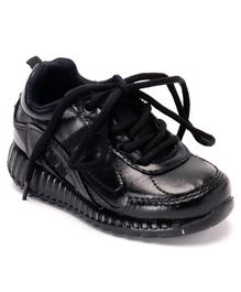 Force 10 School Shoes - Black