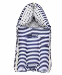 Luk Luck Port Baby Sleeping Bag Stripe Pattern - Blue