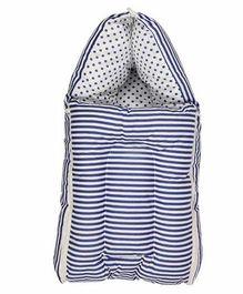 Luk Luck Port Baby Sleeping Bag Stripe Pattern - Blue