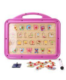 Funworld ABC Puzzle Slate - Pink