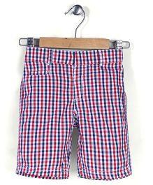 Mothercare Checks Chino Shorts - Multicolor