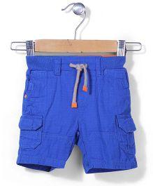 Mothercare Cargo Shorts - Royal Blue
