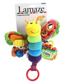 Lamaze Freddie The Firefly Soft Toy Rattle