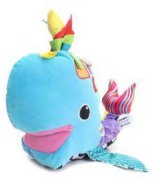 Lamaze Franky The Hanky Whale - Blue